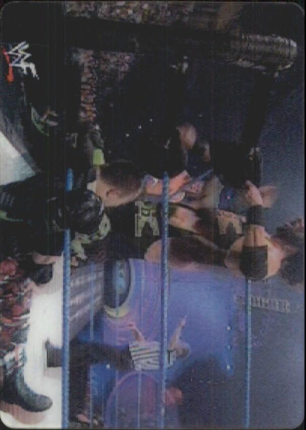 2001 Artbox WWF MotionCardz #24 DX Pac/Ray Dudley