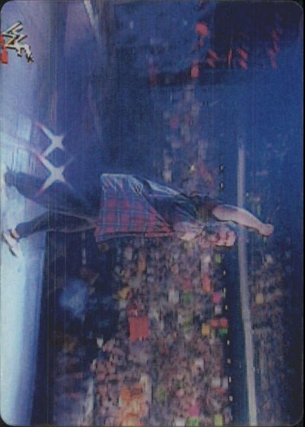 2001 Artbox WWF MotionCardz #25 Commissioner Foley