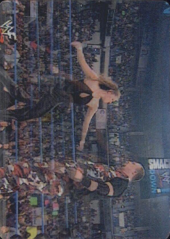 2001 Artbox WWF MotionCardz #33 Stephanie/Ray Dudley