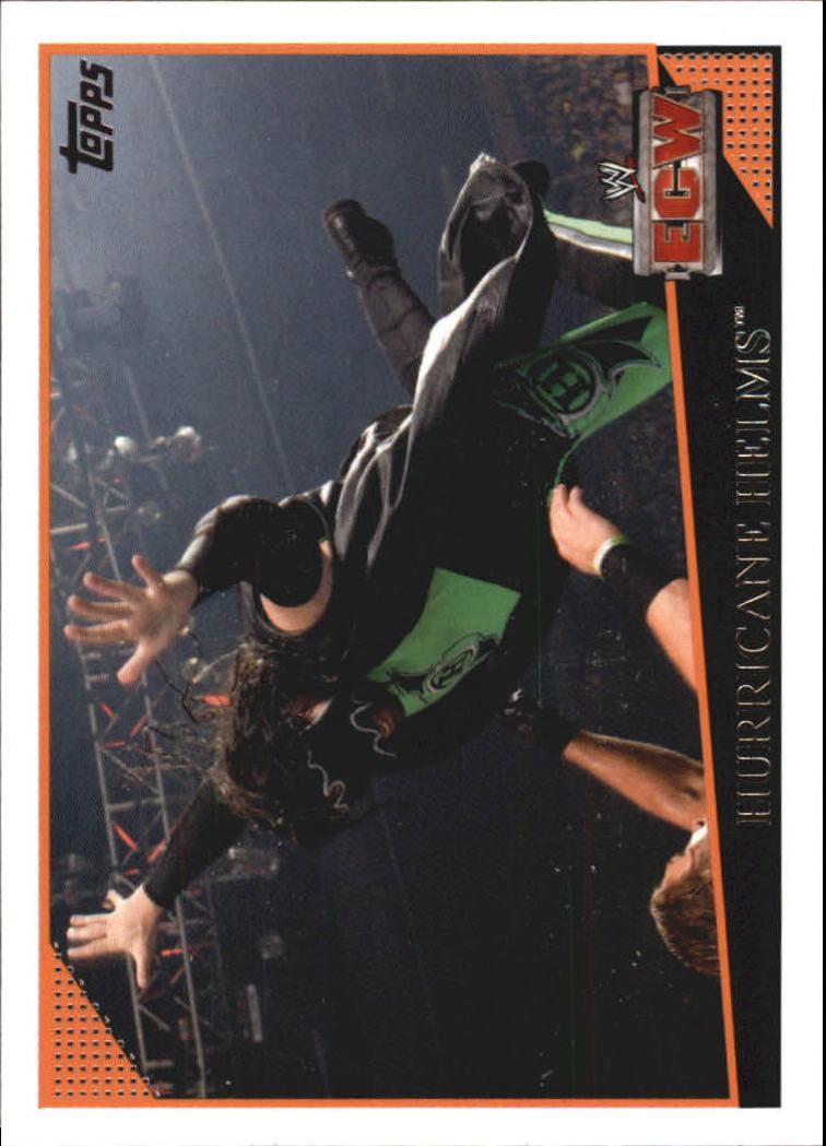 2009 Topps WWE #1 Hurricane Helms
