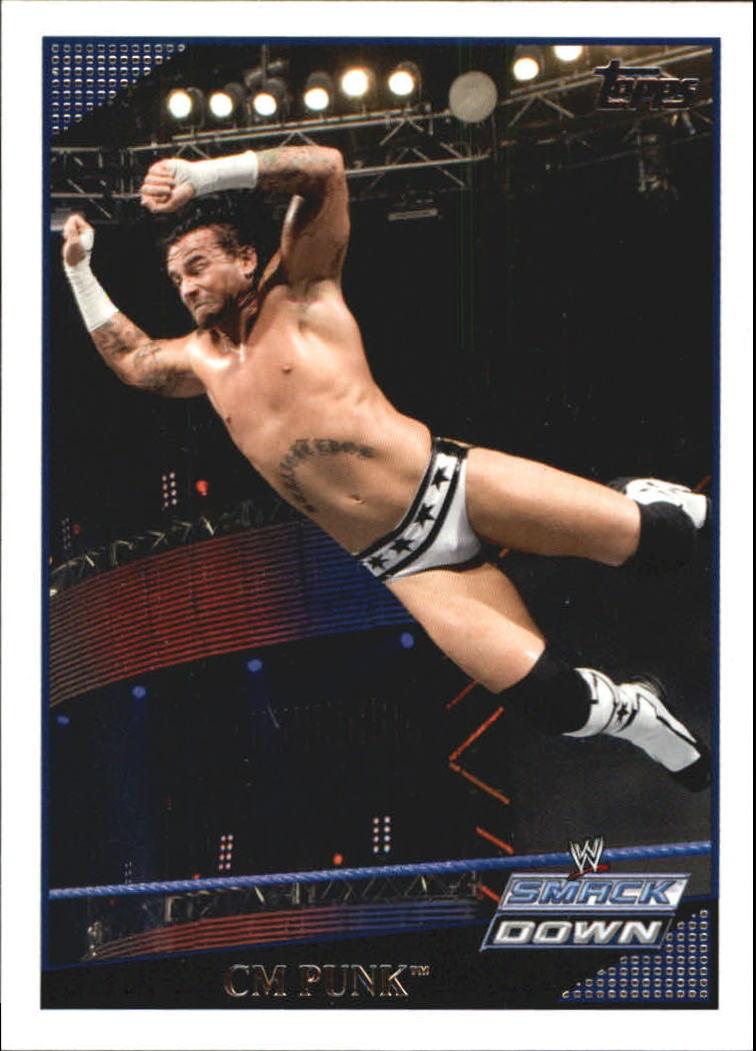 2009 Topps WWE #3 CM Punk