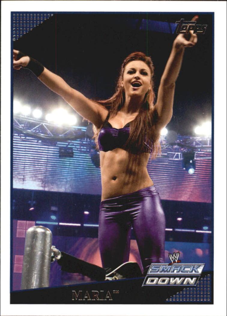 2009 Topps WWE #4 Maria