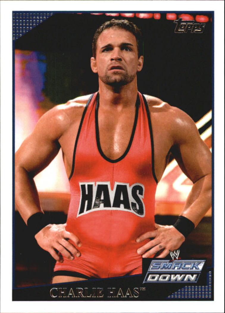 2009 Topps WWE #13 Charlie Haas