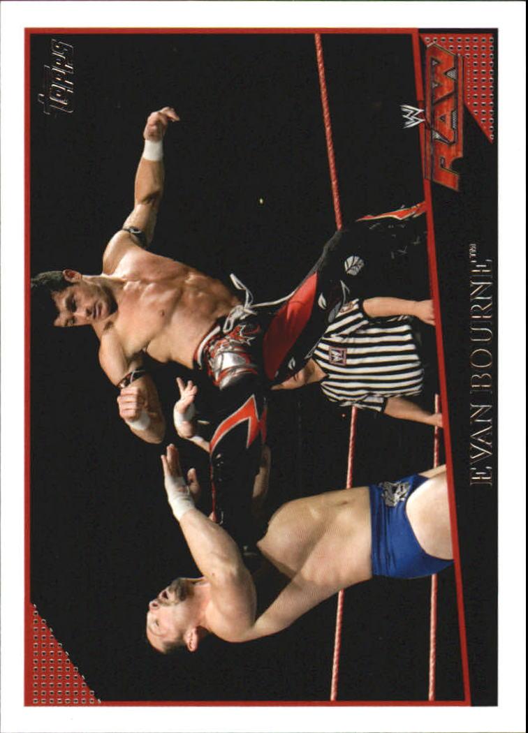 2009 Topps WWE #15 Evan Bourne
