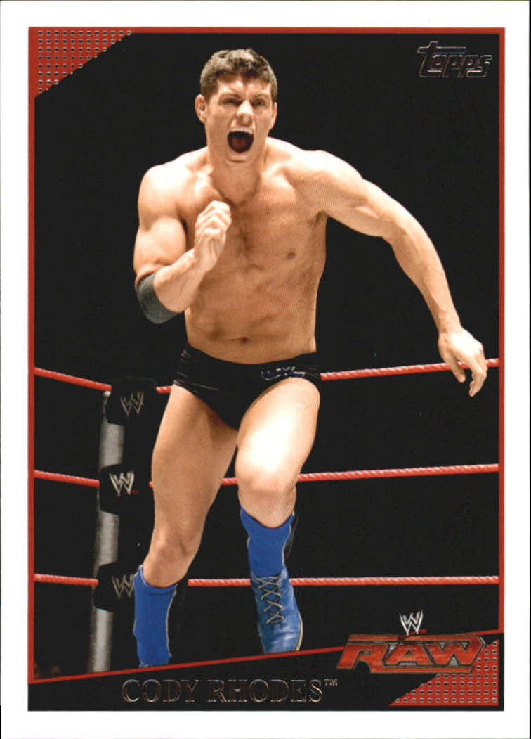 2009 Topps WWE #18 Cody Rhodes