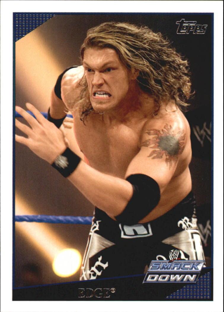 2009 Topps WWE #21 Edge