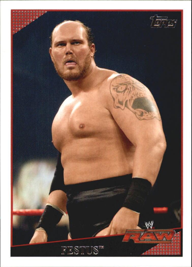 2009 Topps WWE #23 Festus