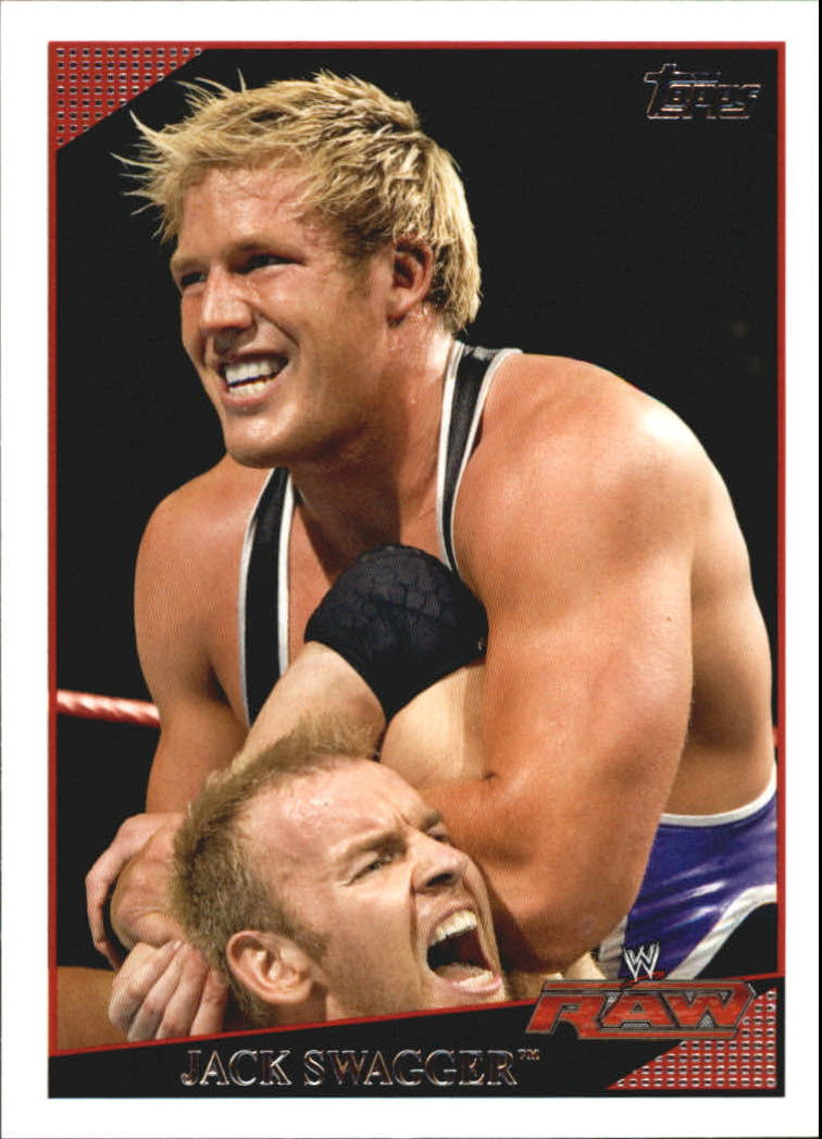 2009 Topps WWE #29 Jack Swagger