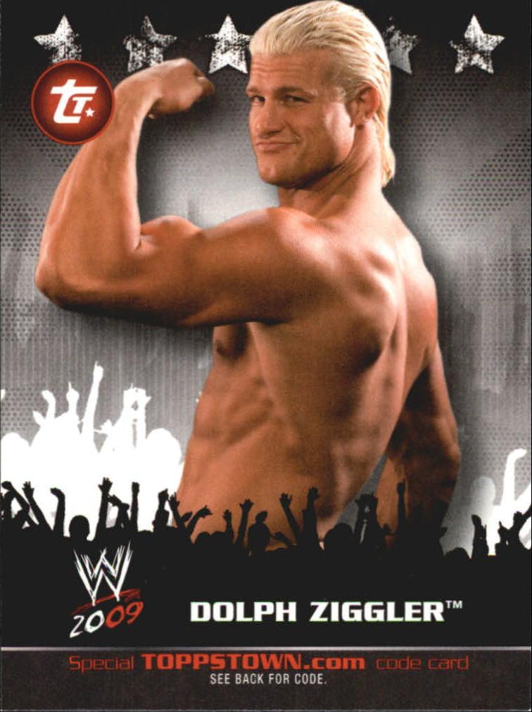 2009 Topps WWE Topps Town #7 Dolph Ziggler