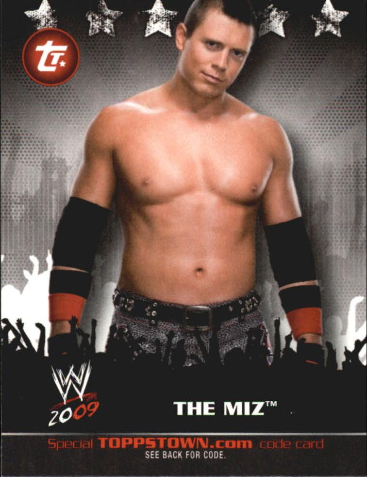 2009 Topps WWE Topps Town #28 The Miz