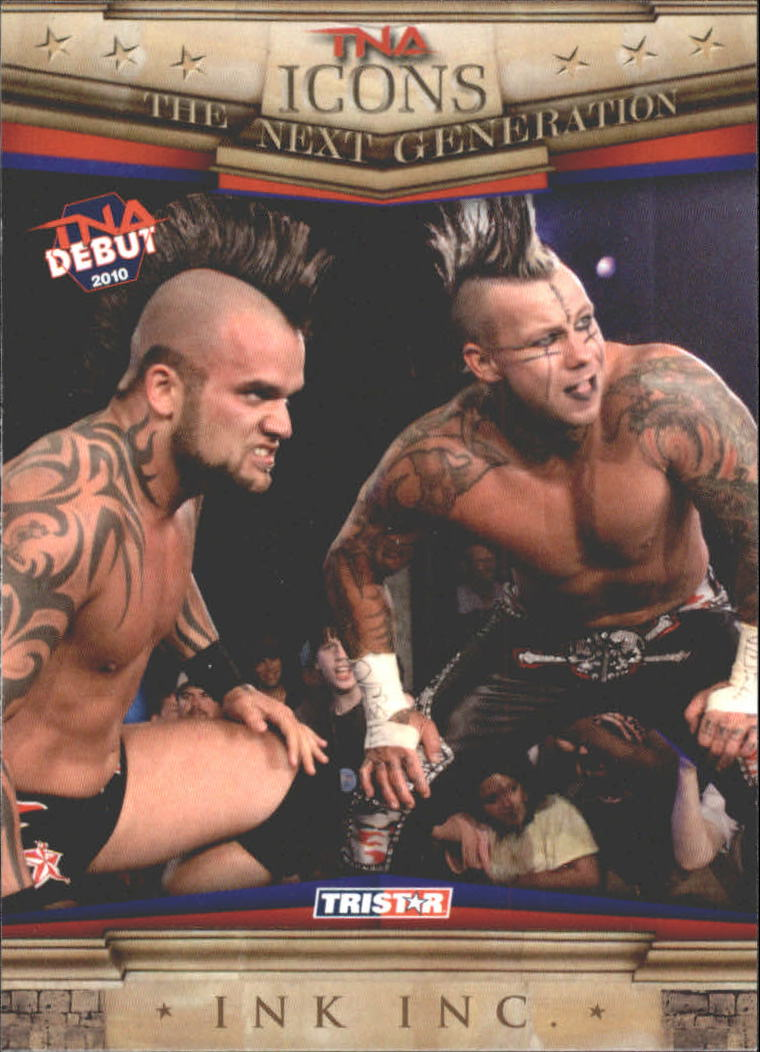 Details about 2010 TriStar TNA Icons #66 Ink Inc