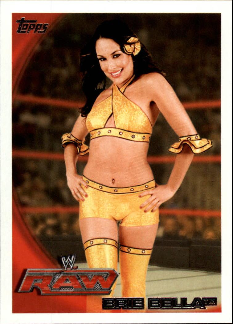 2010 Topps WWE #26 Brie Bella