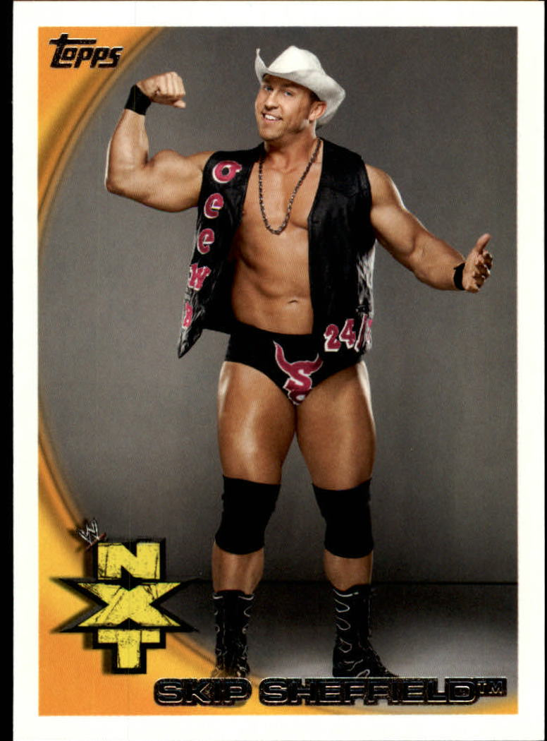 2010 Topps WWE #66 Skip Sheffield