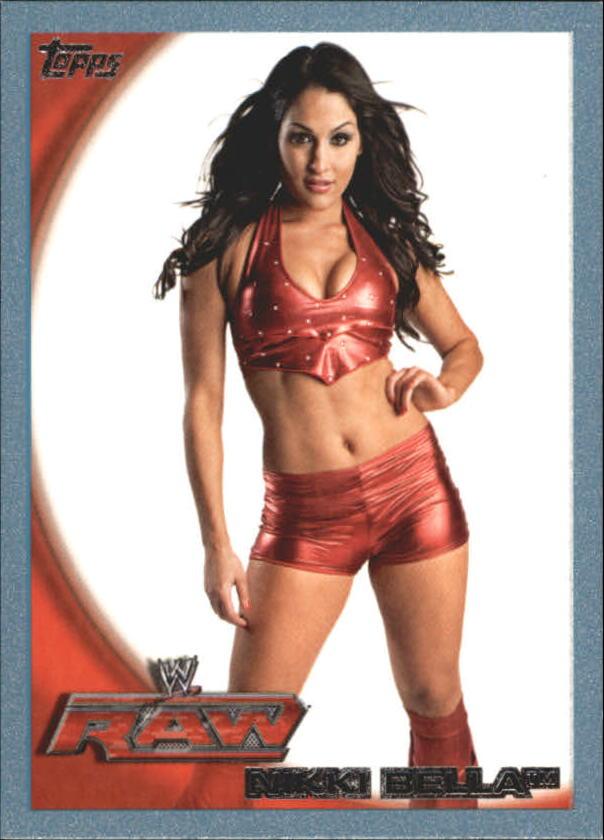 2010 Topps WWE Blue #8 Nikki Bella