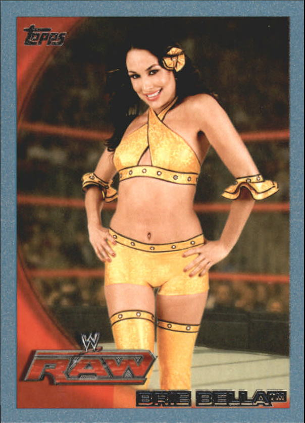 2010 Topps WWE Blue #26 Brie Bella