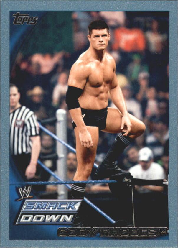 2010 Topps WWE Blue #39 Cody Rhodes