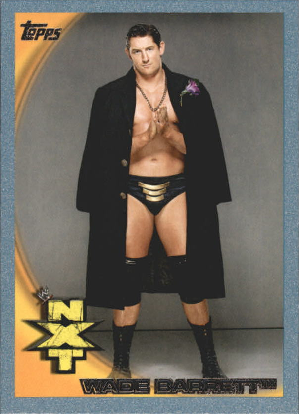 2010 Topps WWE Blue #67 Wade Barrett
