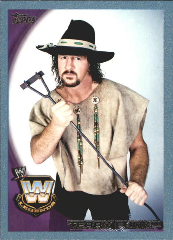 2010 Topps WWE Blue #104 Terry Funk