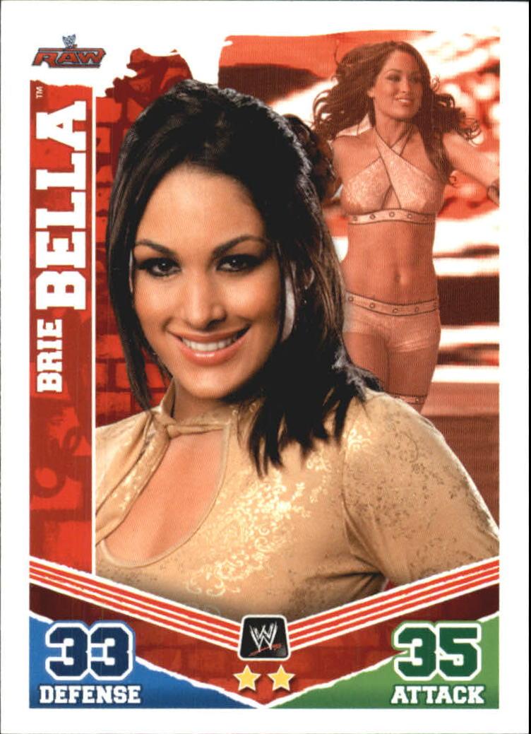 2010 Topps Slam Attax Mayhem WWE #31 Brie Bella