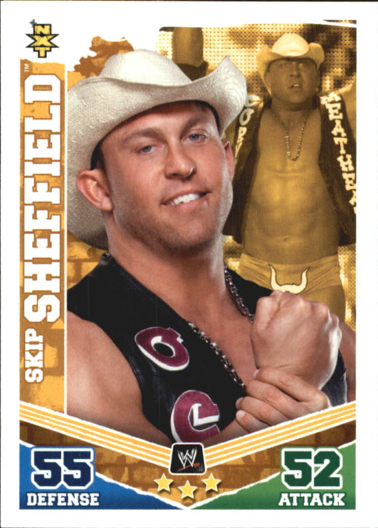 2010 Topps Slam Attax Mayhem WWE #80 Skip Sheffield