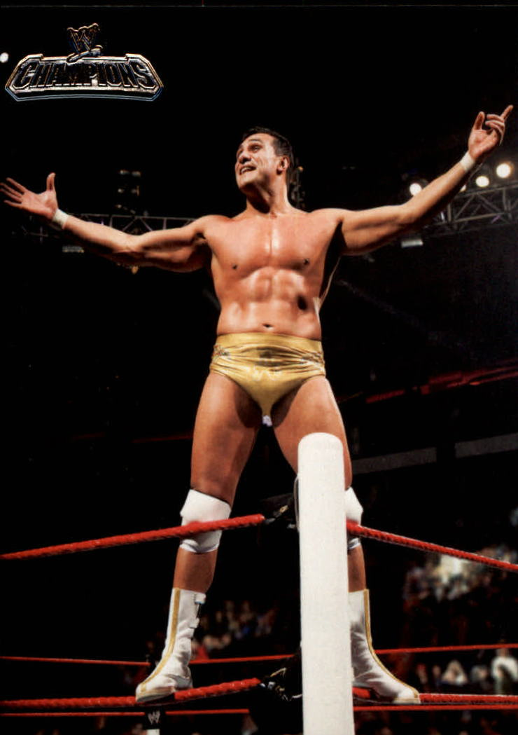 2011 Topps Champions WWE #61 Alberto Del Rio Wins the Royal Rumble