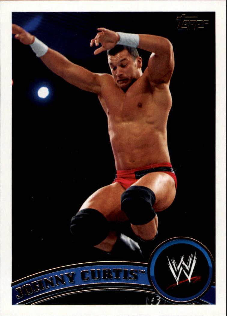 2011 Topps WWE #9 Johnny Curtis