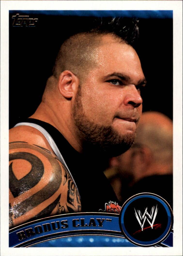 2011 Topps WWE #32 Brodus Clay
