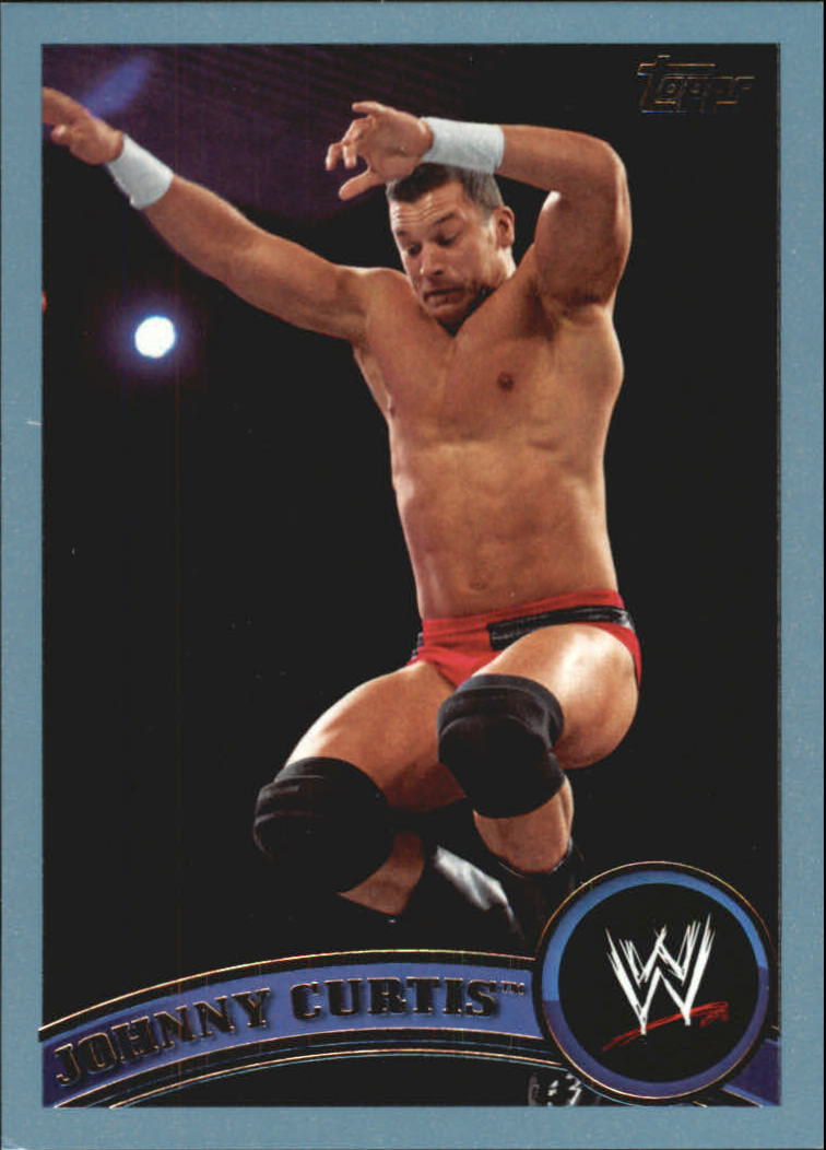 2011 Topps WWE Blue #9 Johnny Curtis