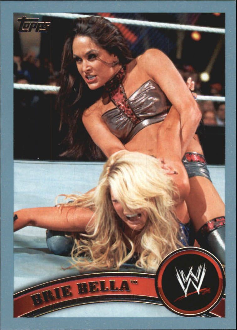 2011 Topps WWE Blue #41 Brie Bella