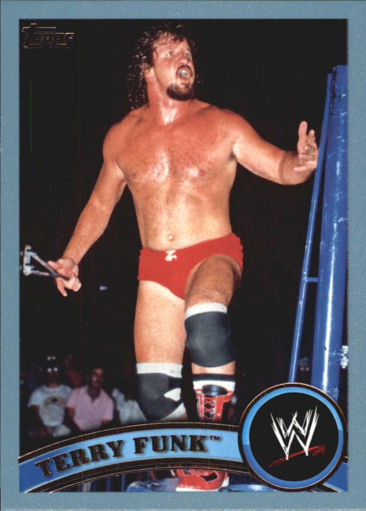 2011 Topps WWE Blue #108 Terry Funk
