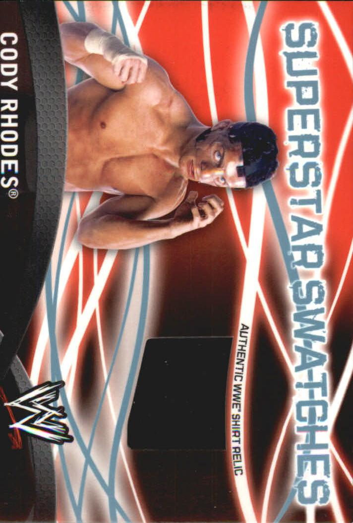 2011 Topps WWE Superstar Swatches #2 Cody Rhodes