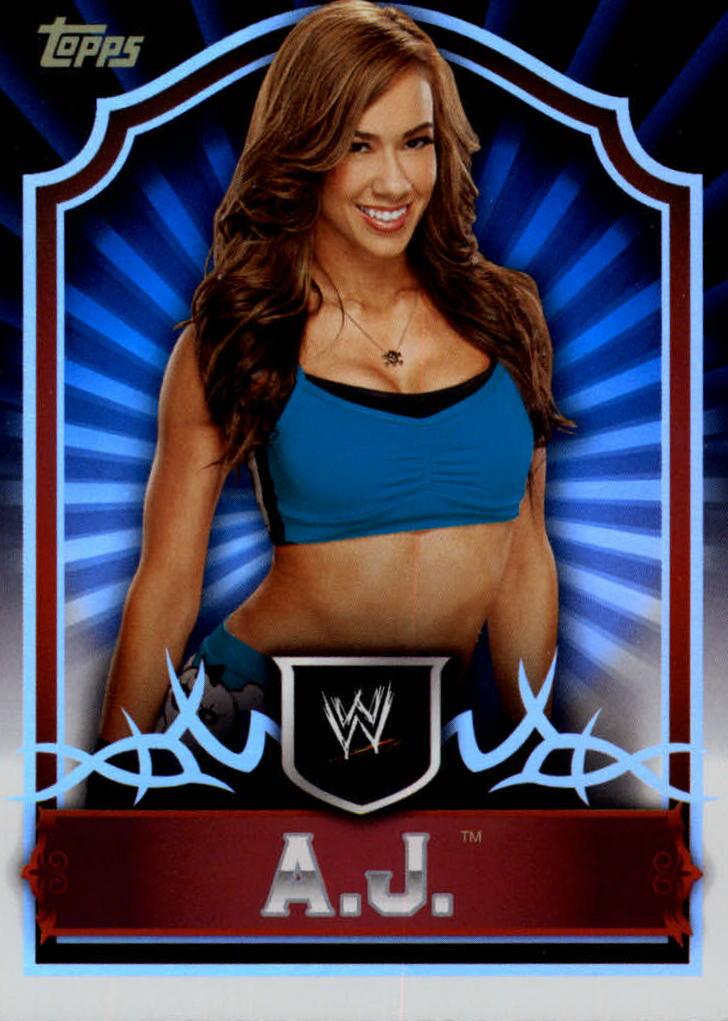 2011 Topps Classic WWE #1 AJ Lee