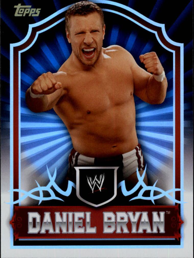 2011 Topps Classic WWE #15 Daniel Bryan