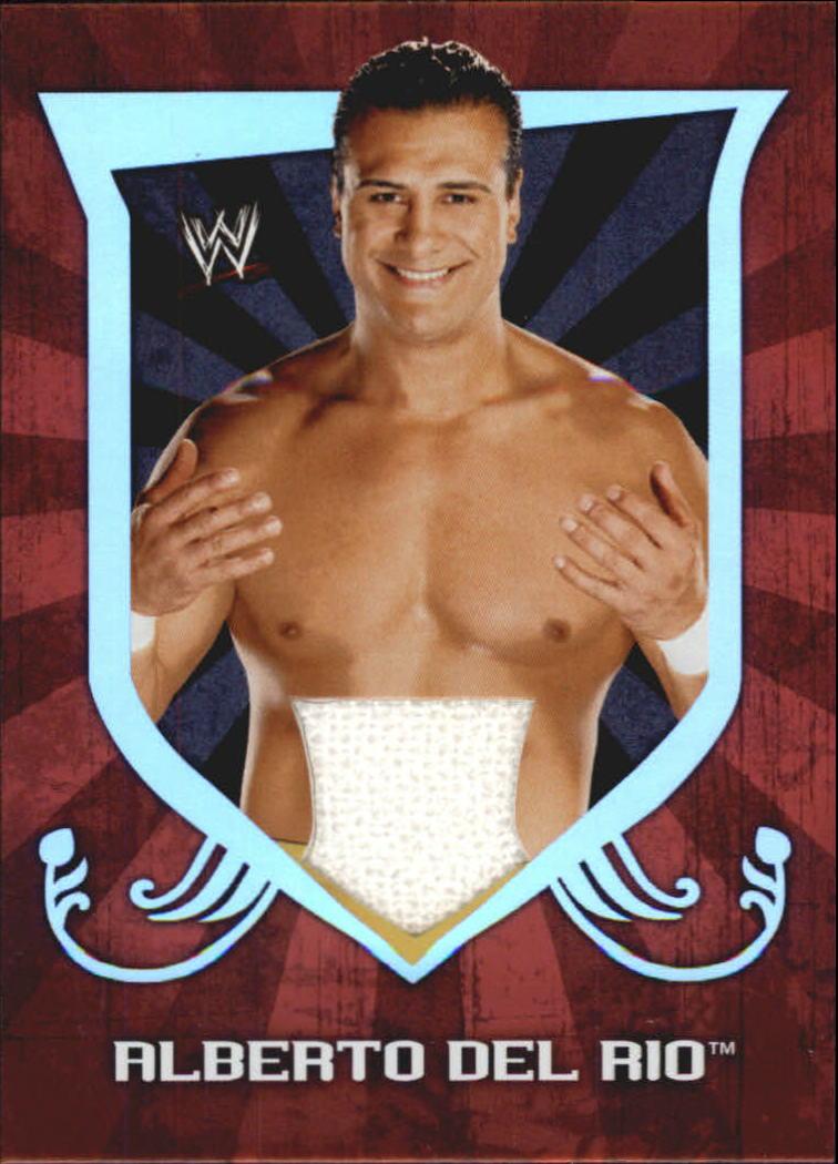 2011 Topps Classic WWE Relics #1 Alberto Del Rio
