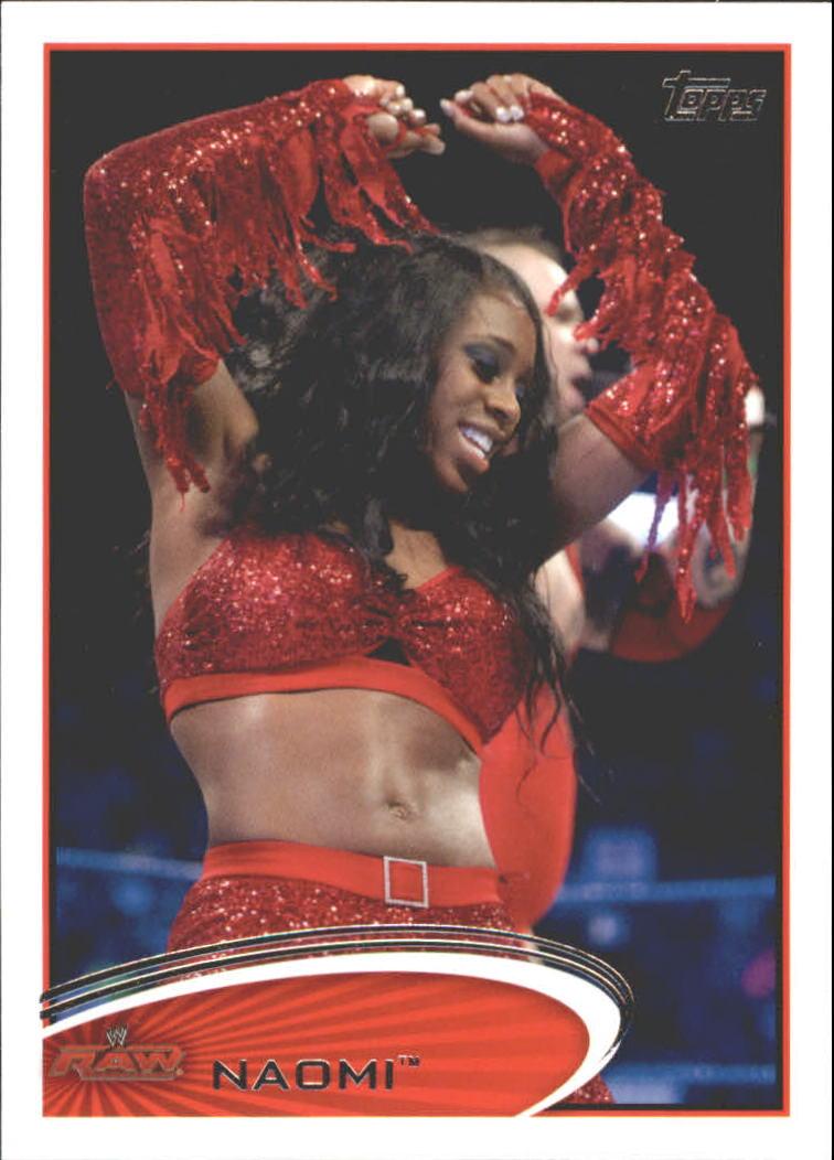 2012 Topps WWE #27 Naomi