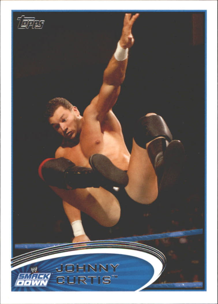 2012 Topps WWE #52 Johnny Curtis