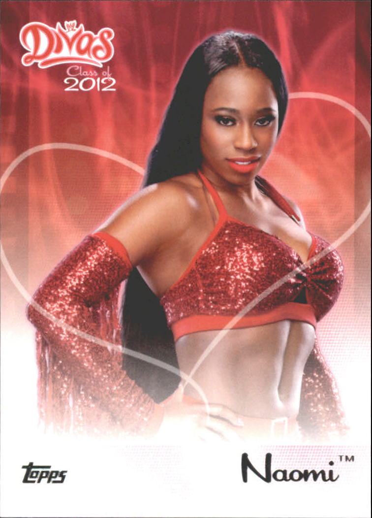 2012 Topps WWE Divas Class of 2012 #12 Naomi