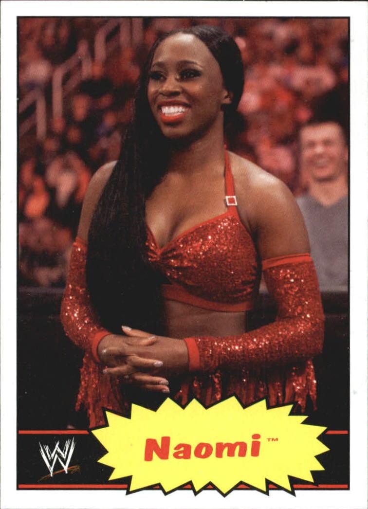 2012 Topps Heritage WWE #28 Naomi