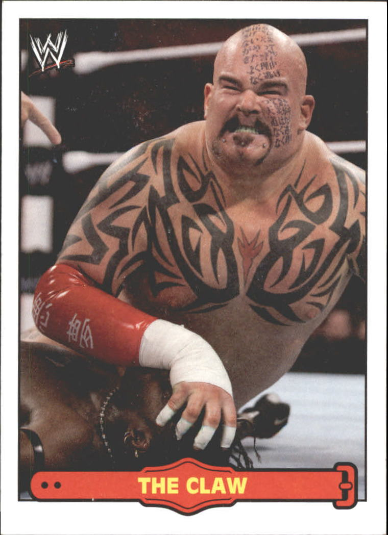 2012 Topps Heritage WWE Ringside Action #44 Tensai / The Claw
