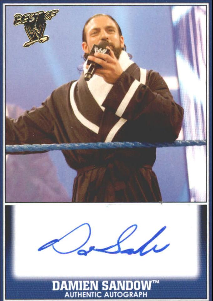 2013 Topps Best of WWE Autographs #6 Damien Sandow