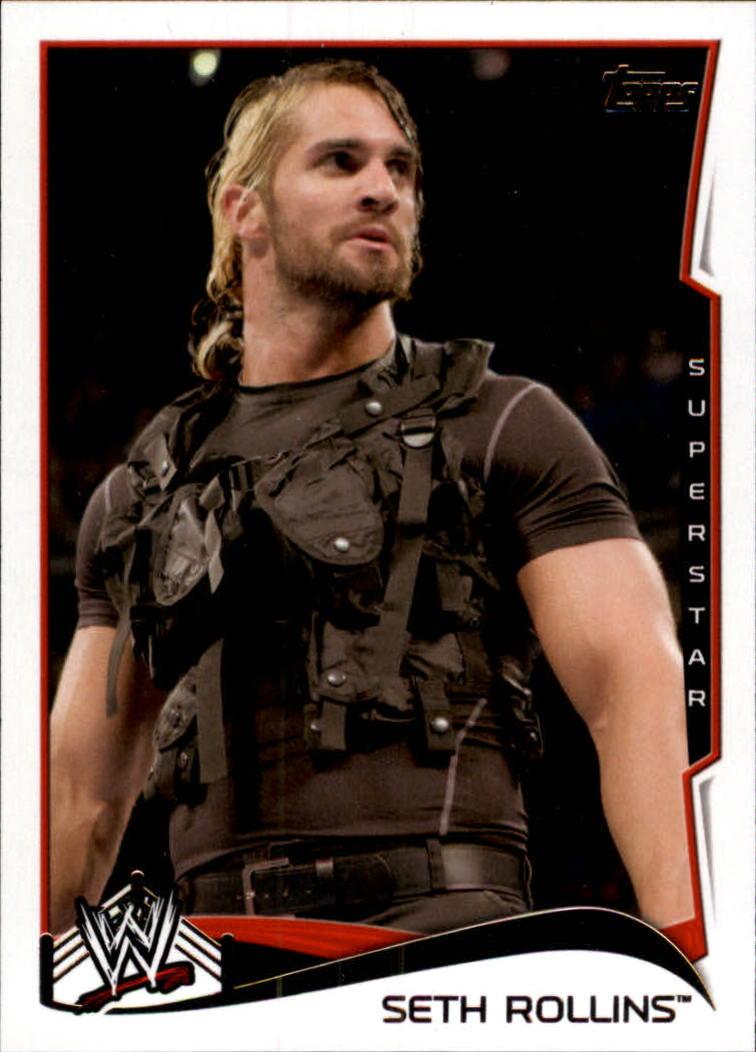 2014 Topps WWE #46 Seth Rollins