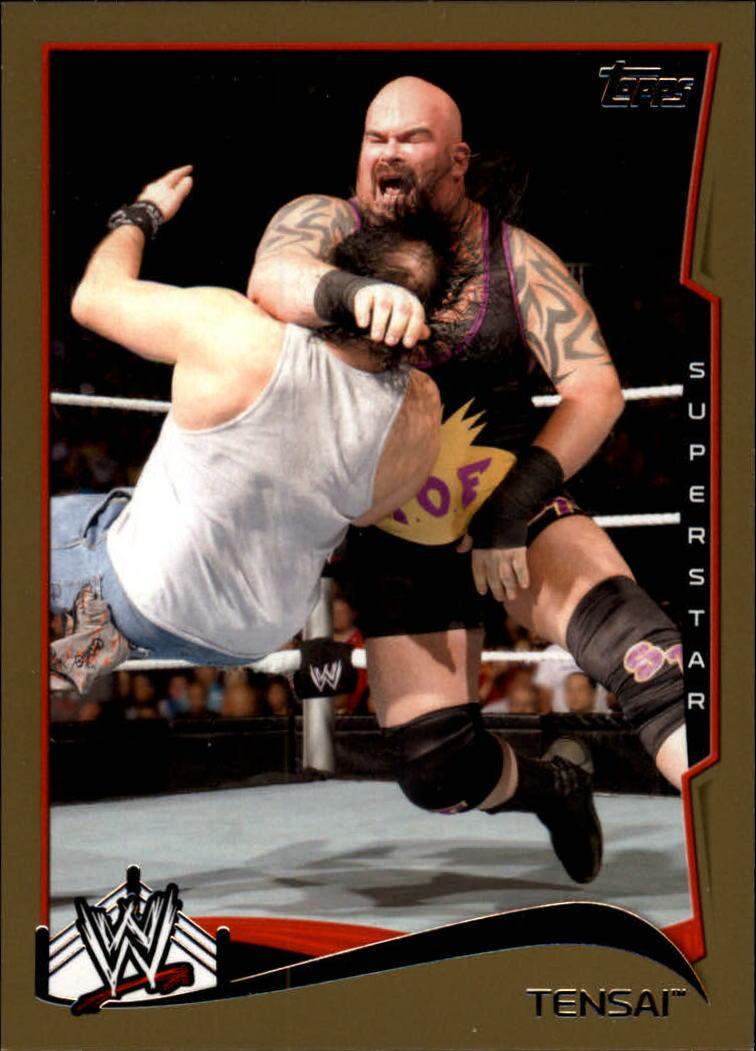 2014 Topps WWE Gold #50 Tensai
