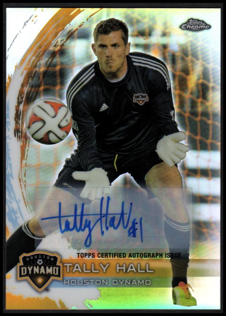2014 Topps Chrome MLS Autographs #20 Tally Hall