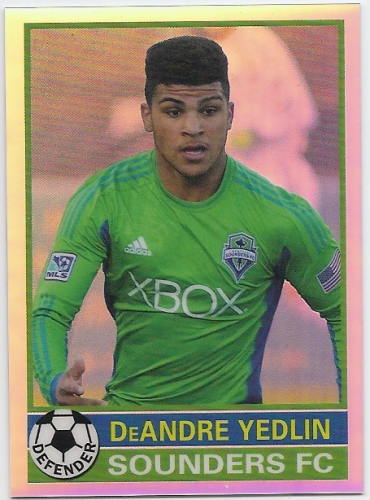 2014 Topps Chrome MLS '76-77 Footballer Mini #7677DY DeAndre Yedlin