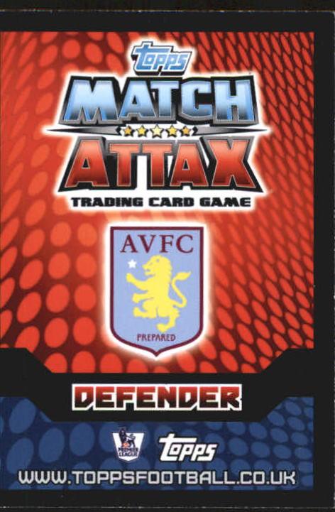 2014-15 Topps Match Attax English Premier League #22 Jores Okore back image