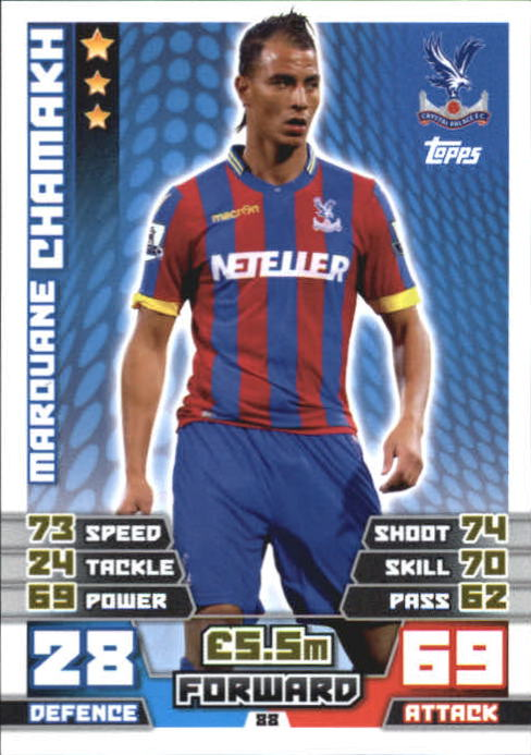 2014-15 Topps Match Attax English Premier League #88 Marouane Chamakh