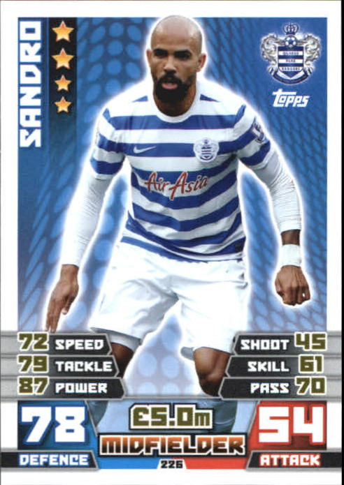 2014-15 Topps Match Attax English Premier League #226 Sandro