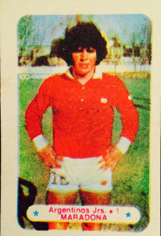 1978 Argentina Campeon Libro De Estampas #AJ1 Diego Maradona