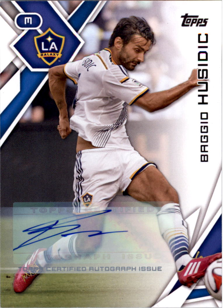 2015 Topps MLS Autographs #63 Baggio Husidic