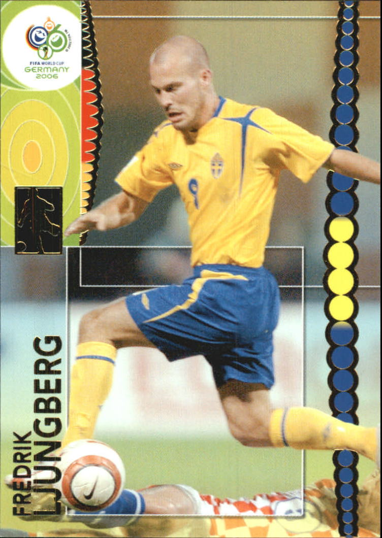 161 Panini World Cup 2006 Fredrik Ljungberg Sweden No